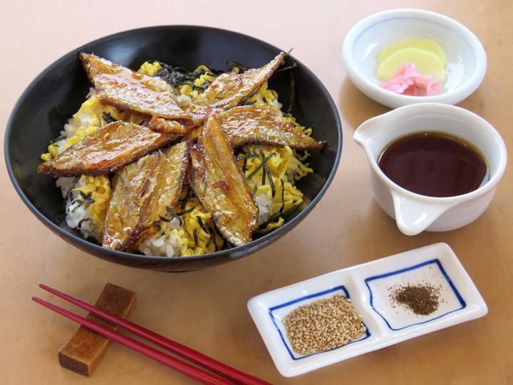 太刀魚の照り焼き丼