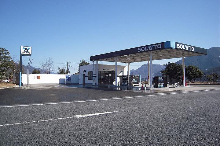 吉野川サービスエリア(上り線)ガソリンスタンド