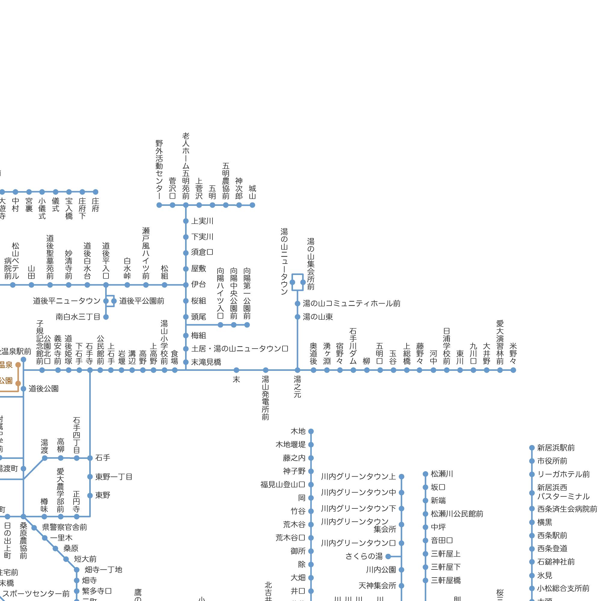 鉄 時刻 表 バス 伊予